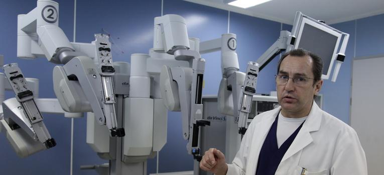 Роботизированная хирургия daVinci